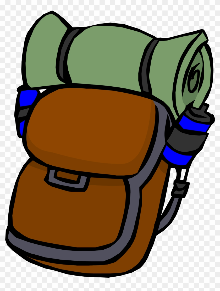 hight resolution of camp clipart backpack club penguin backpack