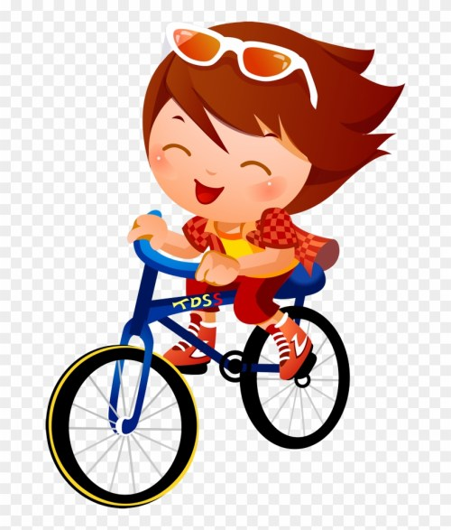 small resolution of bike clipart kid tricycle children cycling cartoon