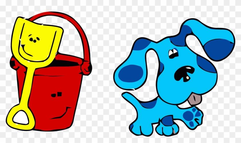 Blue S Clues Clip Art Bucket Clipart Png Blues Clues Coloring Pages Free Transparent Png Clipart Images Download