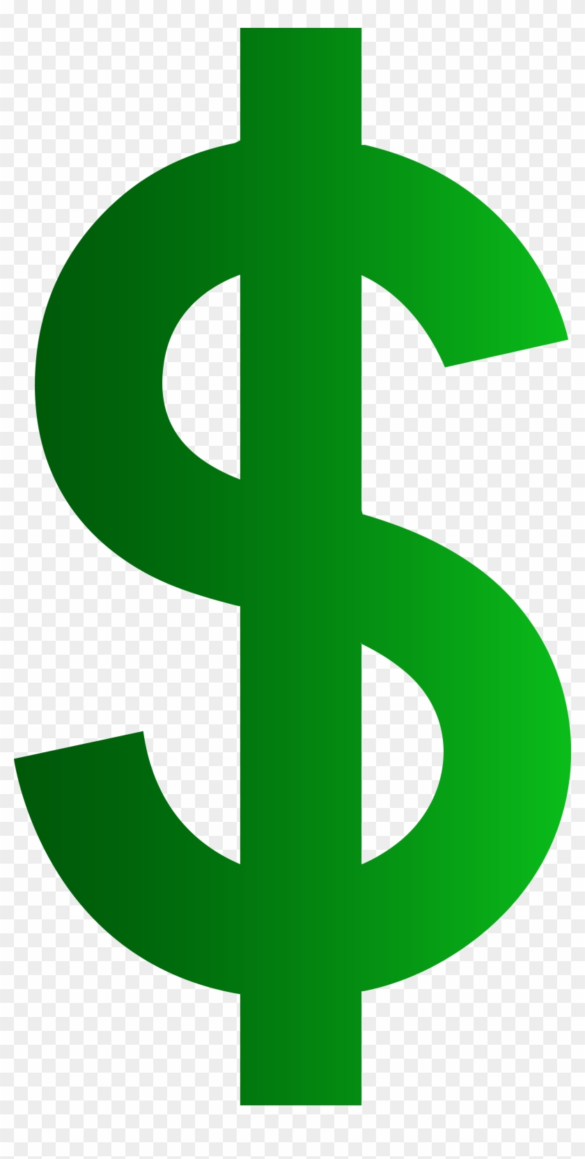 hight resolution of dollar money clipart dollar sign no background 824481