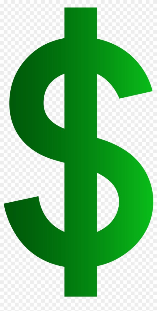 small resolution of dollar money clipart dollar sign no background 824481