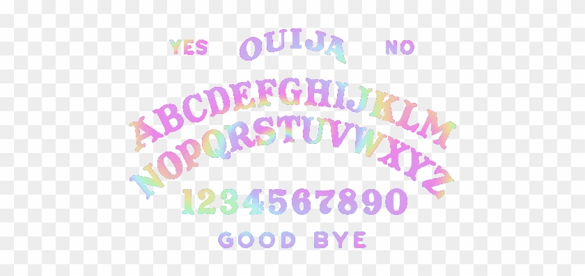 Kawaii Witch Witch Witchcraft Pastel Witch Aesthetic Ouija Board Statement Necklace White Silver Free Transparent Png Clipart Images Download