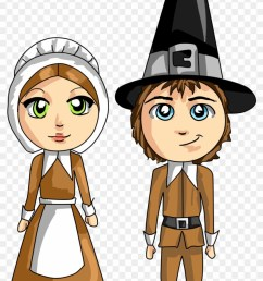 pilgrim thanksgiving clipart pilgrim cartoon clipart [ 840 x 1241 Pixel ]