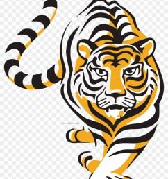 walking wild tiger clipart png tiger vector 868498 [ 840 x 1124 Pixel ]