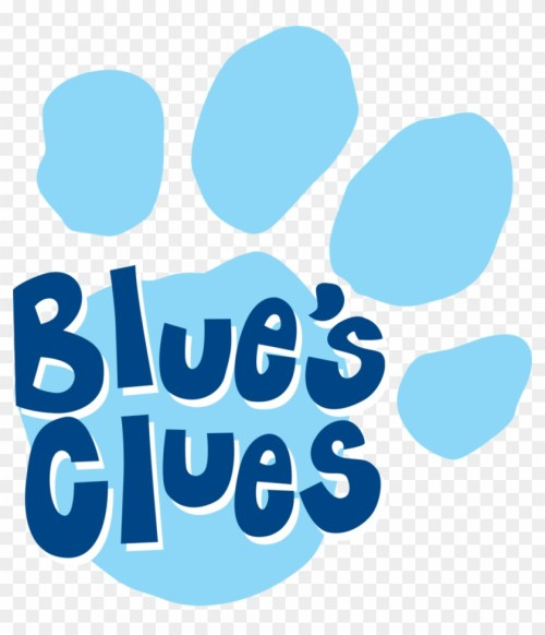 small resolution of shrewd pictures of blues clues blue s favourites by blues clues logo png 870379