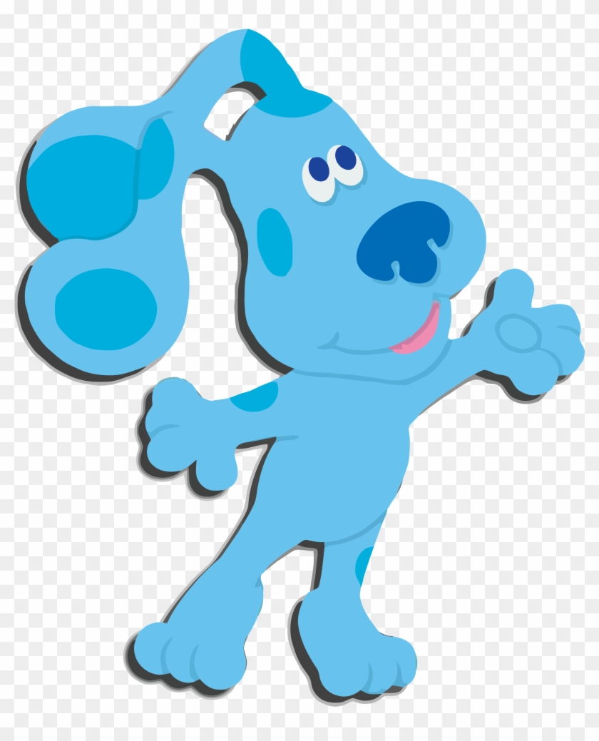 hight resolution of blue blues clues png 876669