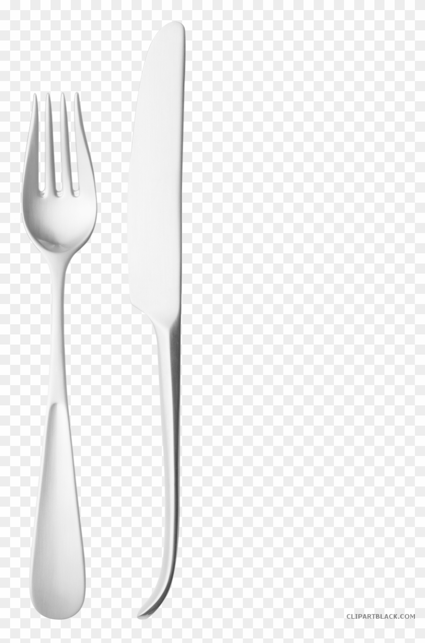 hight resolution of fork and knife tools free black white clipart images knife