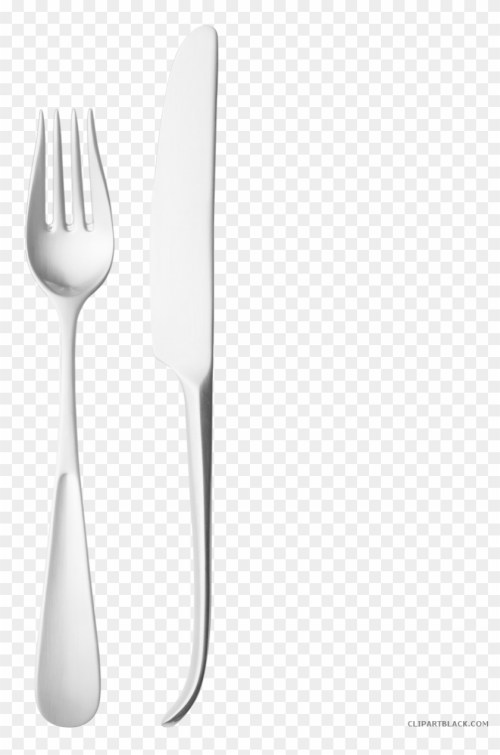 small resolution of fork and knife tools free black white clipart images knife