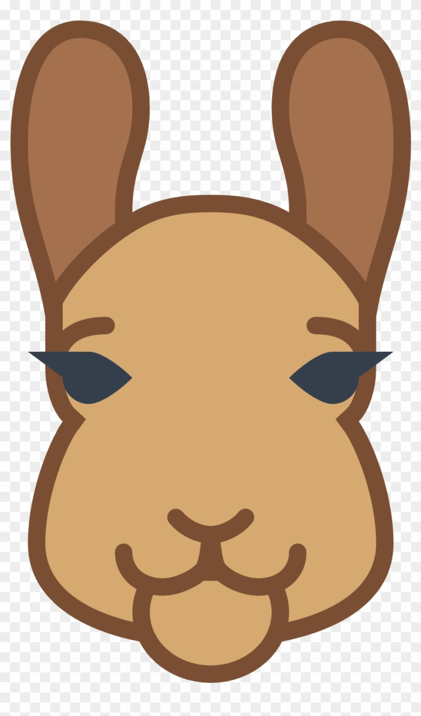 hight resolution of llama clipart face icon