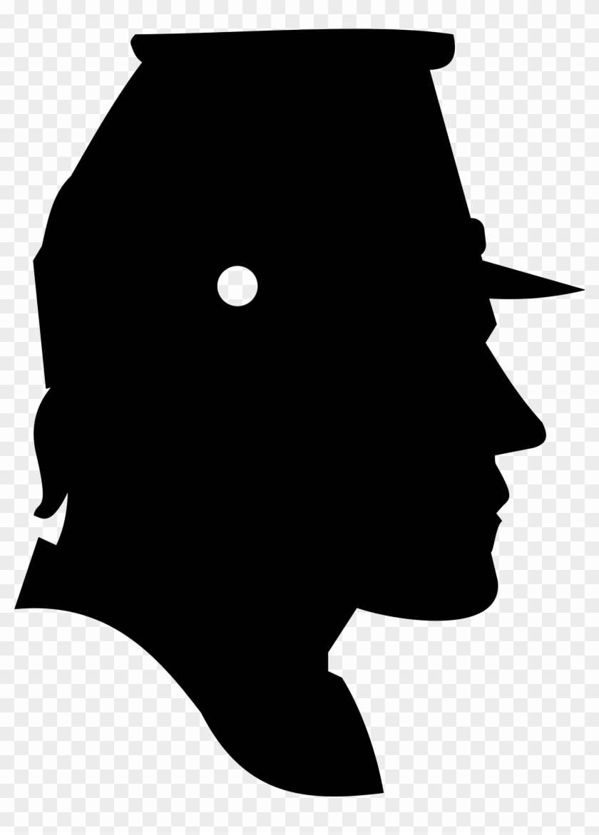 hight resolution of head silhouette person clipart free civil war soldier profile 21530