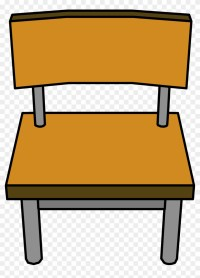 Classroom Chair - Png - School Chair Clipart - Free ...