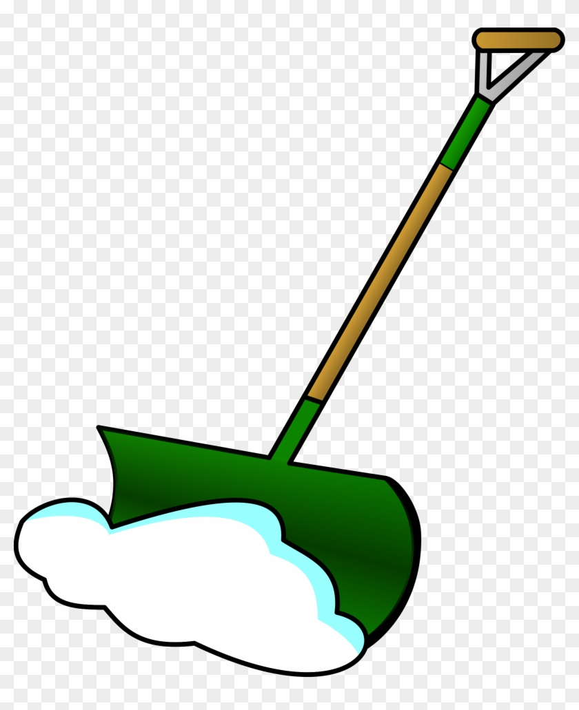 Shovel Free To Use Clipart Shovel Snow Clip Art Black And White