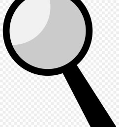 clipart magnifying glass black clipart 25922 [ 840 x 1175 Pixel ]