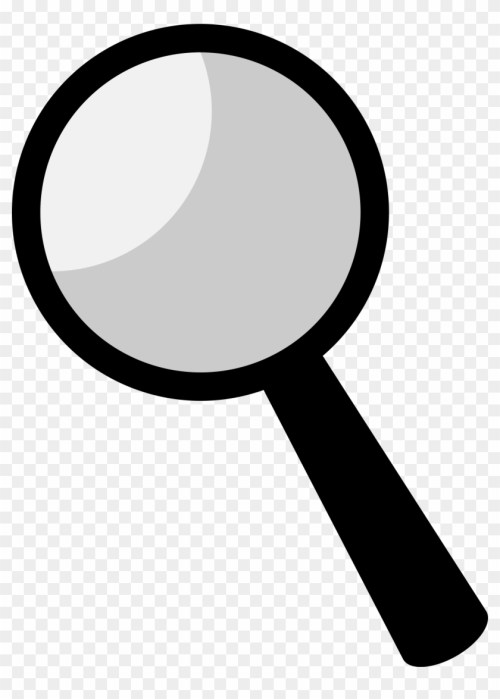 small resolution of clipart magnifying glass black clipart 25922