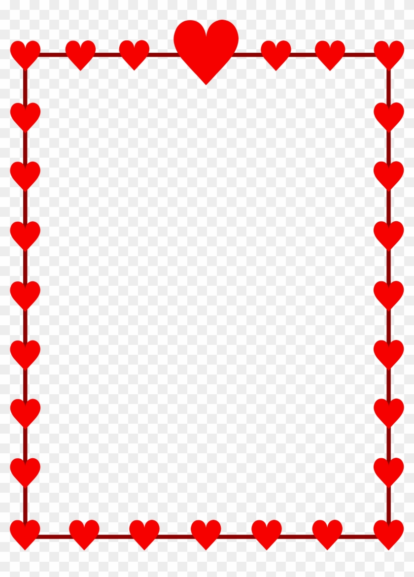 hight resolution of free valentine clipart valentines day border clip art 169541