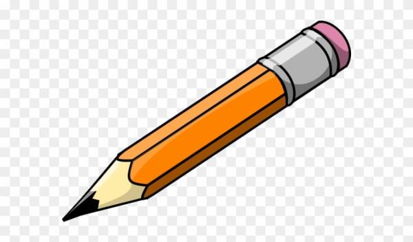 pencil and paper clipart - school