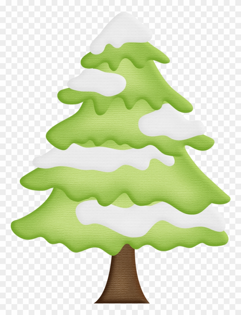 medium resolution of winter clipart christmas tree pine tree with snow clipart