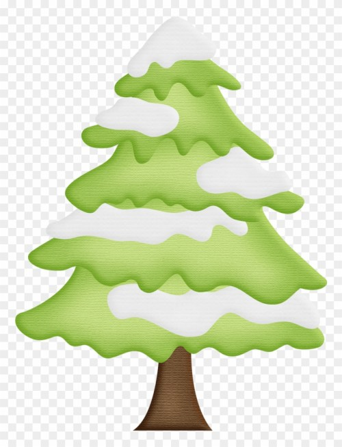 small resolution of winter clipart christmas tree pine tree with snow clipart