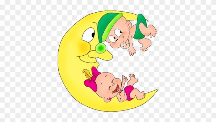 set cute baby emoticons