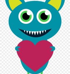 monster clipart valentine s day clipart monster [ 840 x 1250 Pixel ]