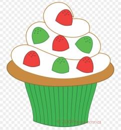 muffin clipart green cupcake christmas cupcake clipart 173675 [ 840 x 948 Pixel ]