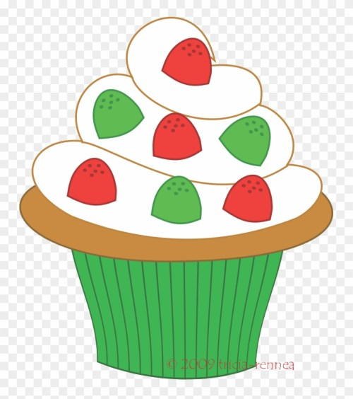 small resolution of muffin clipart green cupcake christmas cupcake clipart 173675