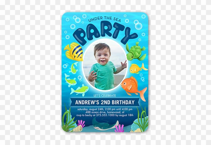 2nd birthday invitation card for boy