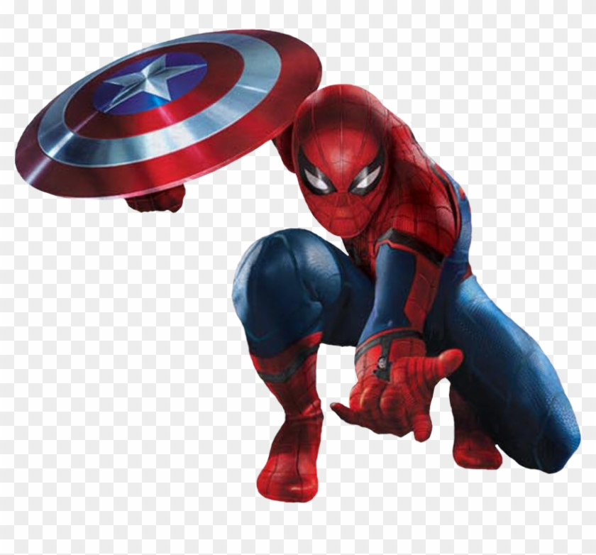 cw spider man shield