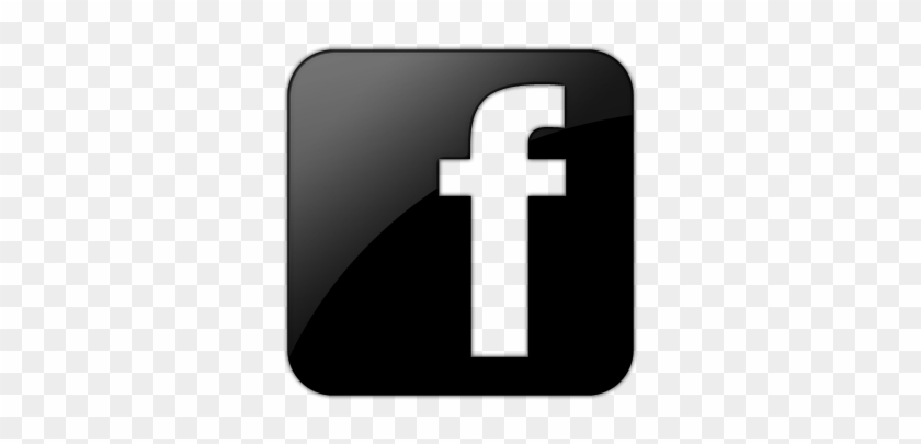 black facebook logo hd