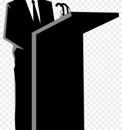 no speaking please person behind a podium 174505 [ 840 x 1383 Pixel ]