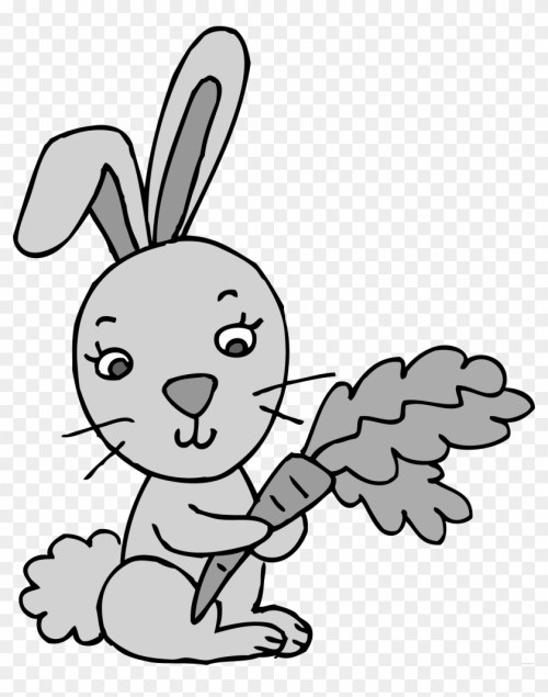 small resolution of rabbit high quality animal free black white clipart 4 rabbit clipart 1033078
