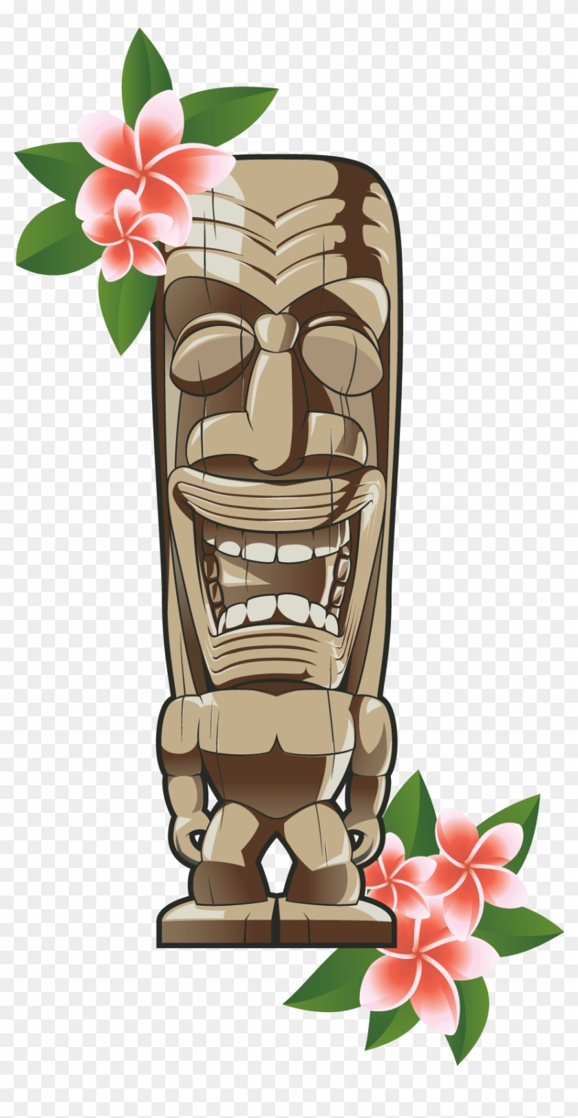 hight resolution of clip art hawaiian tiki