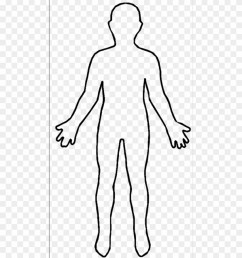 human body outline picture human body outline free transparent  [ 840 x 981 Pixel ]