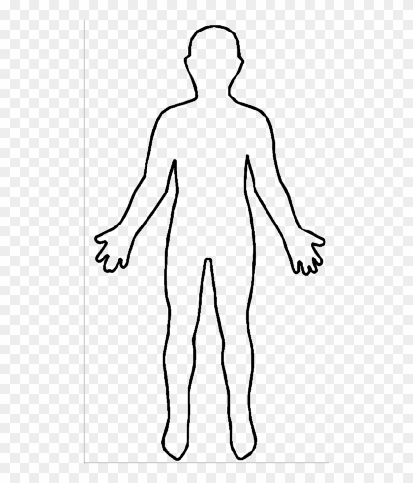 hight resolution of human body outline picture human body outline free transparent