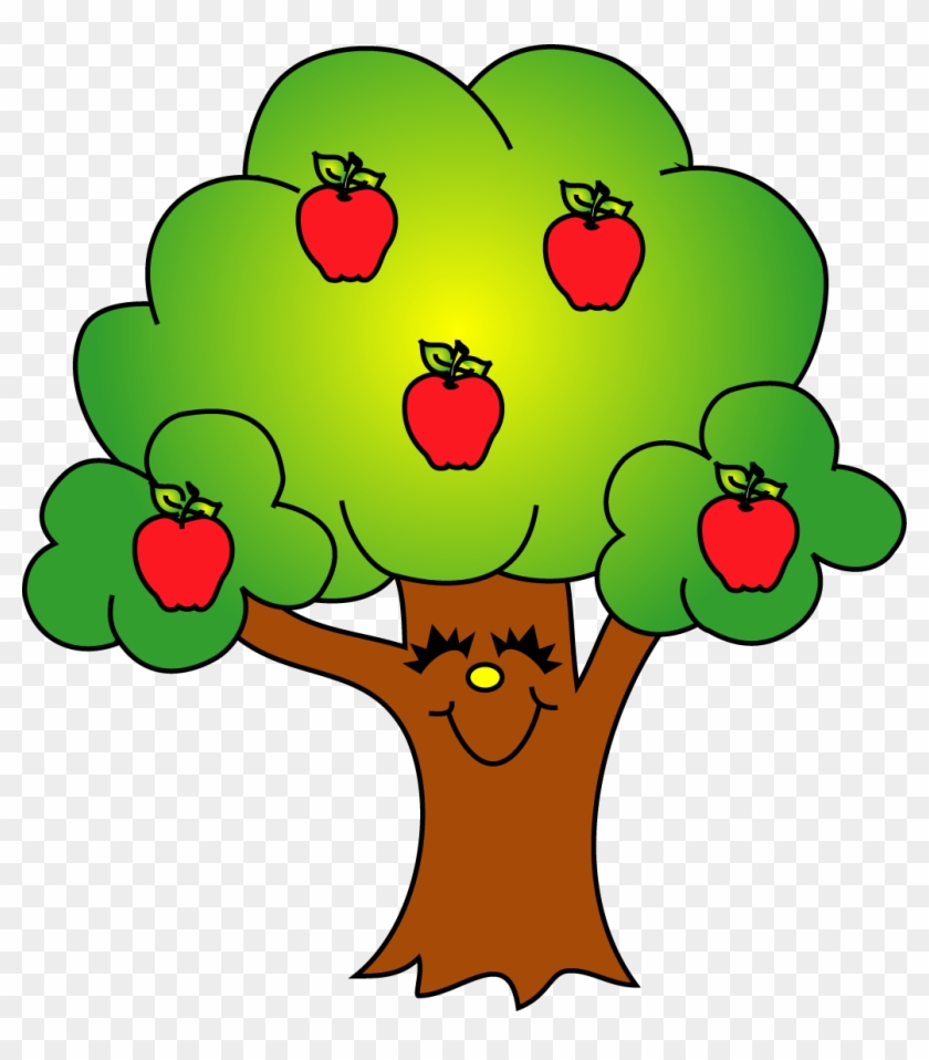 hight resolution of green apple tree clipart apple tree clipart free 1056919