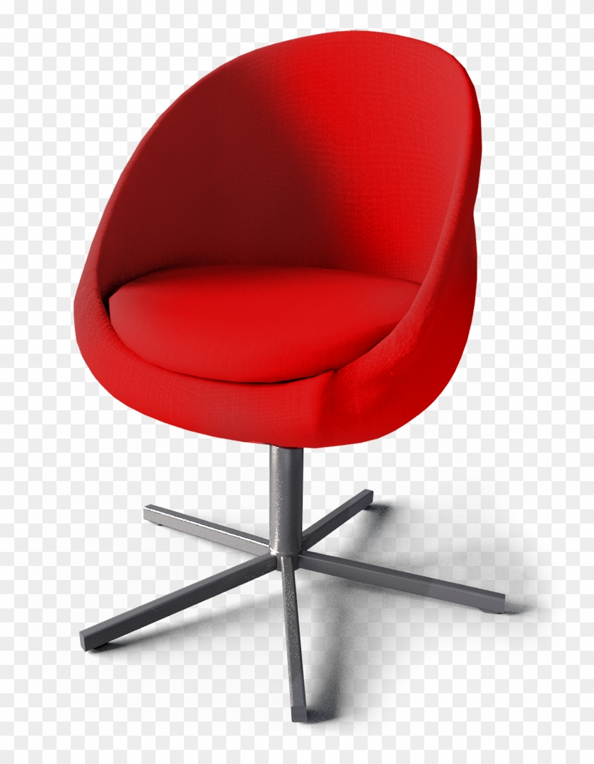 red desk chair ikea what is a lift swivel cad and bim object skruvsta 1067838