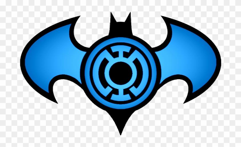 batman blue lantern logo