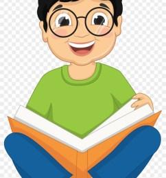 cartoon kids craft images clip art chart cartoons reading book of boy [ 840 x 1351 Pixel ]