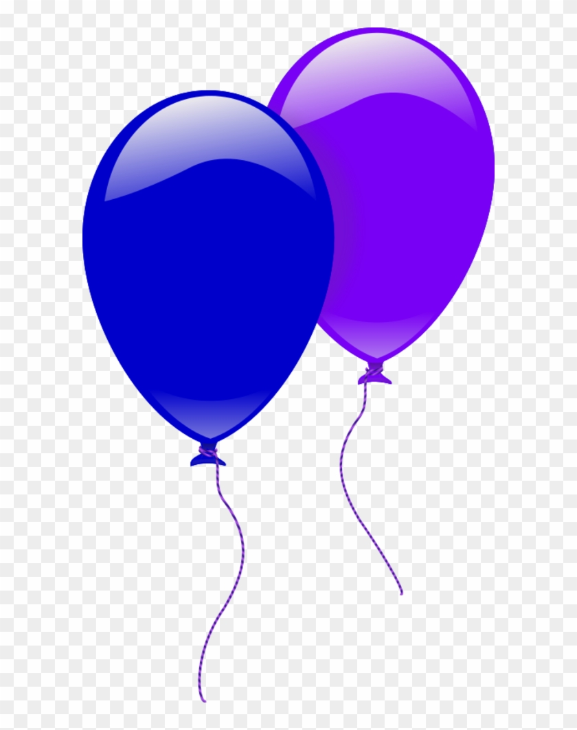 hight resolution of party balloons two 2 balloon clipart 187059