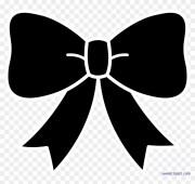 bow ribbon silhouette clip art