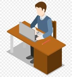 laptop clipart desk clipart man with laptop clipart png [ 840 x 941 Pixel ]