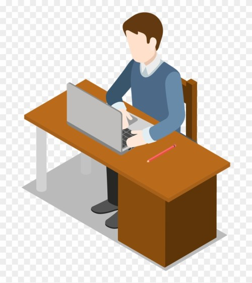 small resolution of laptop clipart desk clipart man with laptop clipart png