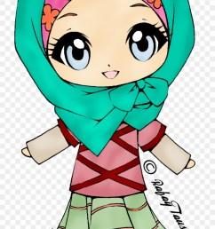 cute muslim teacher clipart 2 by ethan muslim girl cartoon png 1149190 [ 840 x 1574 Pixel ]