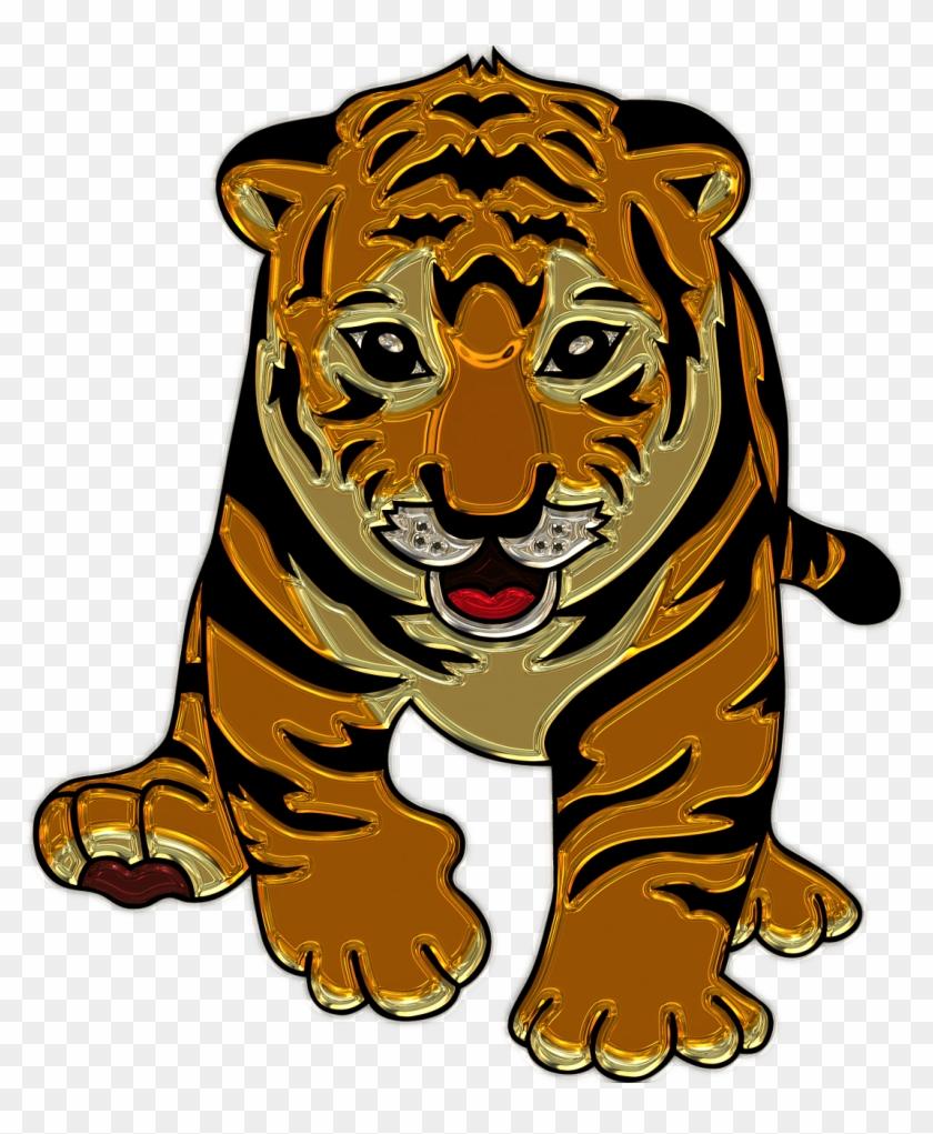 hight resolution of lion cub plastic art tiger clipart 1157644