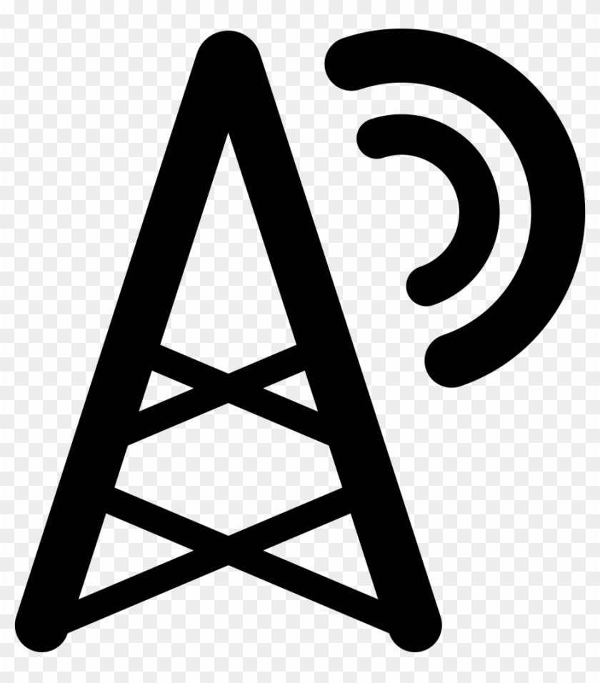 hight resolution of radio tower comments icon