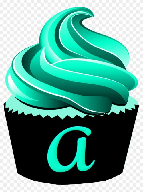small resolution of cupcake muffin alphabet chocolate cupcake clipart 1166928