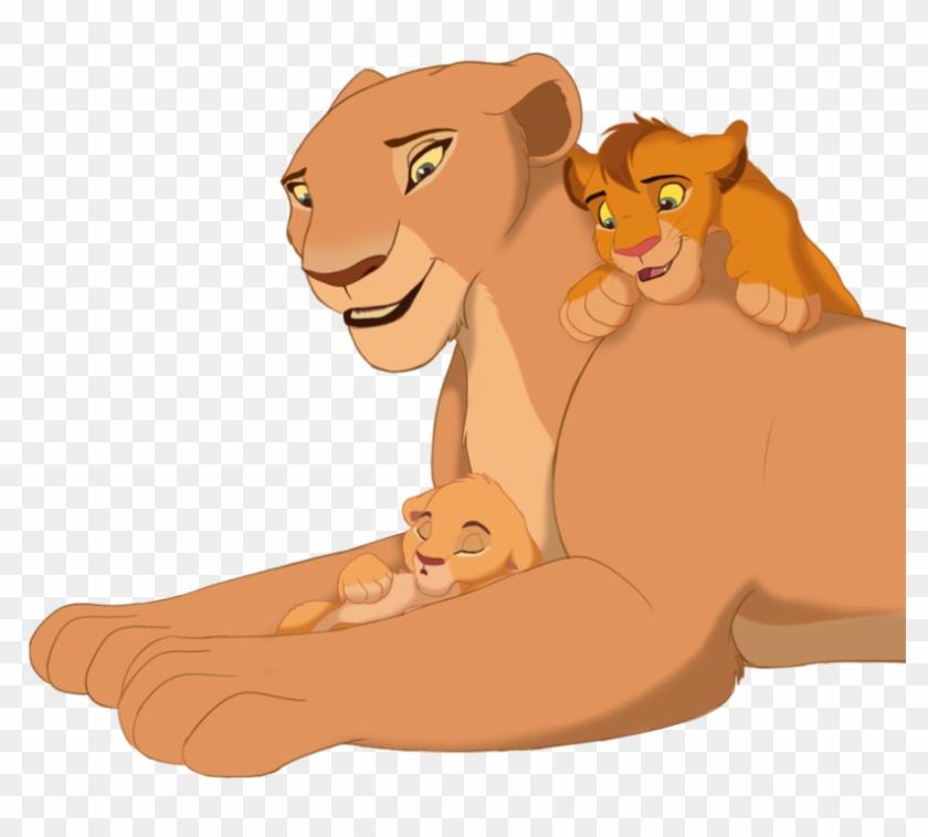 Lion King Baby Simba And Nala  Illustration  Free