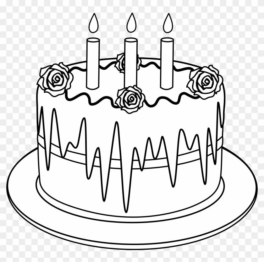 Clip Arts Related To Draw A Fancy Birthday Cake Free Transparent
