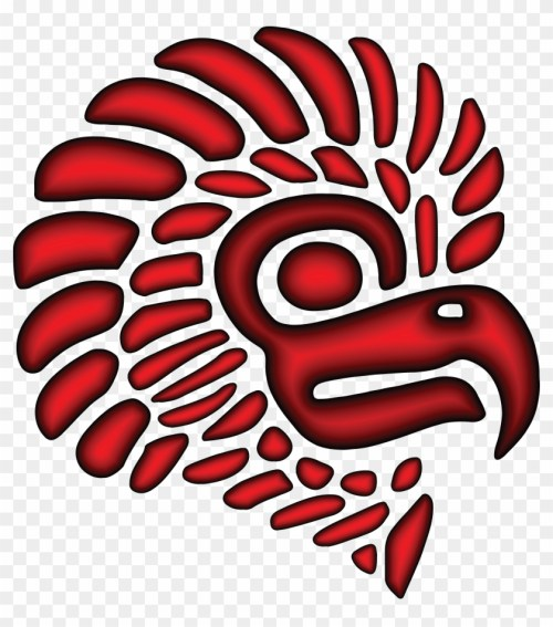 small resolution of free clipart of a red mexican eagle mascot head no one writes to the colonel