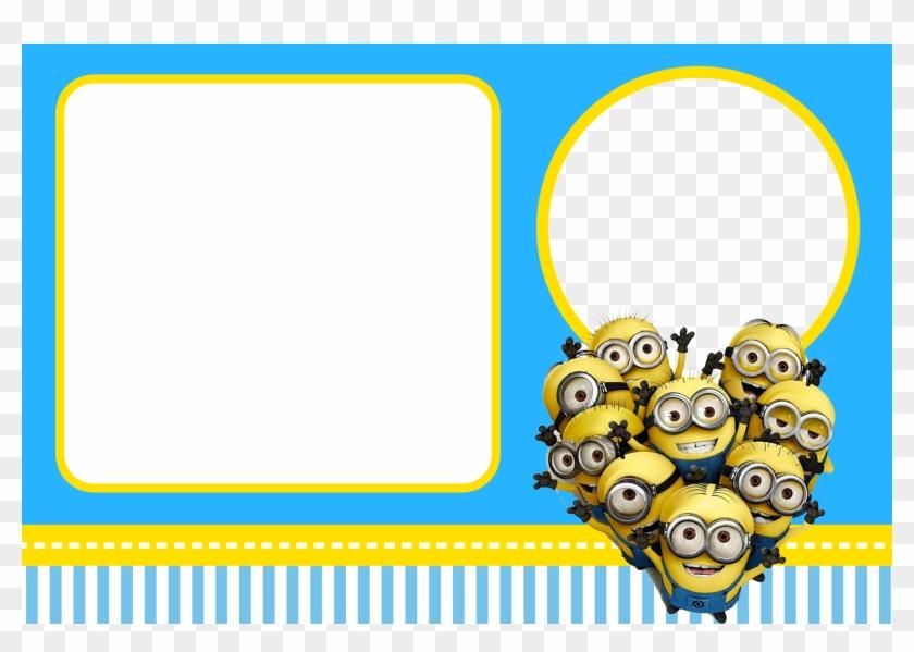 invitation birthday card minions